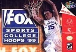 Fox Sports College Hoops '99 (USA) Box Scan